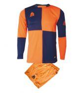 Zeusport, Kit Yaris arancio-blu - Voetbaltenues