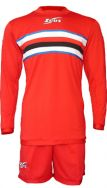 Zeusport, Kit Thor ROSSO-BIANCO-NERO-ROYAL - Voetbaltenues