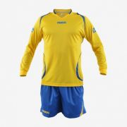 Massport, Kit Monaco _GIALLO-ROYAL - Voetbaltenues