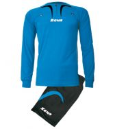 Zeusport, Kit Arbitro Pro M/L ROYAL-NERO  - Scheidsrechterskleding