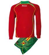 Zeusport, Kit Mercurio Rosso-Verde-Giallo - Voetbaltenues