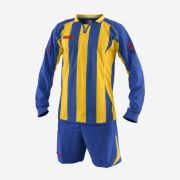 Massport, Kit Atletico ROYAL-GIALLO - Voetbaltenues