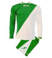 Zeusport, Kit Ergo Verde-Bianco - Voetbaltenues