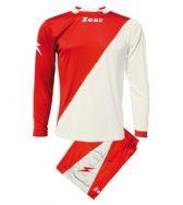 Zeusport, Kit Ergo Rosso-Bianco - Voetbaltenues