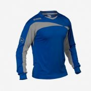Massport, MAGLIA BLOCK ROYAL-GRIGIO - Keeperskleding