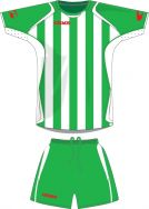 Gems, AA05 Kit California Verde/Bianco - Voetbaltenues