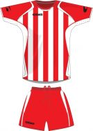 Gems, AA05 Kit California Rosso/Bianco - Voetbaltenues