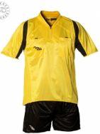 Massport, Kit Arbitro Fulmine _GIALLO-NERO - Scheidsrechterskleding