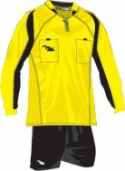 Massport, Kit Arbitro Lampo _GIALLO-NERO - Scheidsrechterskleding