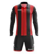 Zeusport, Kit Pitagora rosso-nero - Voetbaltenues