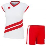 Errea, Kit Jens Volley white-red - Volleybalkleding