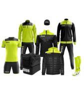 Zeusport, Box Kit Vesuvio nero-giallofluo - Box kit