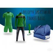 Zeusport, ZEUS Pakket Basic Verde-blu - Voetbaltenues