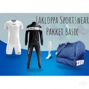 Zeusport, ZEUS Pakket Basic Bianco-blu - Box kit