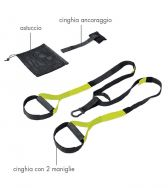 Zeusport, TRX Suspension trainer Nero - Fitness