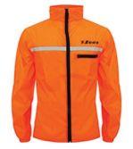 Zeusport Rain Jacket Runner Aranciofluo