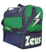 Zeusport BORSA DELTA blu-Verde-Bianco