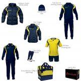 Givova BOX01 blu-giallo