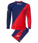Zeusport Kit Ergo Blu-Rosso