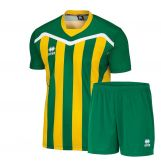 Errea Kit Alben green yellow
