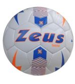 Zeusport Pallone Tuono Bianco-Light Royal-Arancio