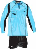 Massport Kit Arbitro Lampo _CELESTE-NERO