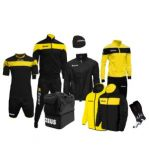 Zeusport Box Apollo Nero-giallo