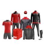 Zeusport Box Kit Vesuvio Grigio-scuro tang red