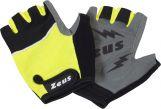 Zeusport Fitness handschoenen Nero-giallofluo