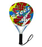 Zeusport Padel Racket Thunder beginners Nero-bianco