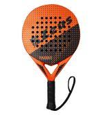 Zeusport Padel Racket Thunder Intermediate Nero-aranciofluo